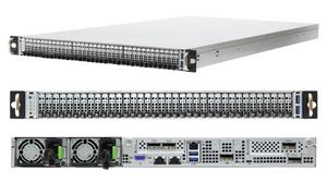 Máy chủ 1U 36 khay AIC OB127-LX tích hợp SSD NGSFF Samsung.