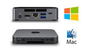 Những năm gần đây, hệ thống máy tính để bàn (desktop) Windows và Mac mini tất-cả-trong-một đang dần thay thế nền tảng máy chủ và desktop truyền thống...