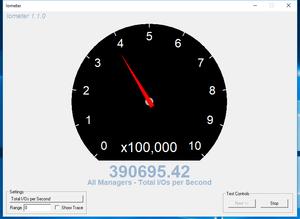 Kết quả tốc độ đọc ngẫu nhiên tính theo IOPS.
