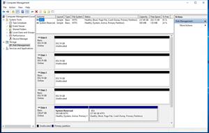 Không có tính năng vROC, hệ thống nhận biết ổ đĩa HighPoint như các SSD riêng lẻ.