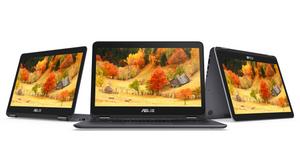 Máy tính 2 trong 1 Asus ZenBook Flip UX360CA sở hữu màn hình cảm ứng 13,3 inch cho màu sắc sinh động và có góc nhìn rộng.