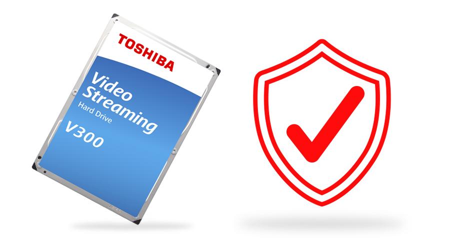 Dòng HDD stream video V300 có thời hạn bảo hành 2 năm.