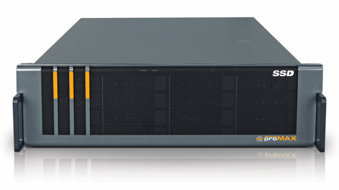 NABS 2017: Promax giới thiệu dòng máy chủ Platform Workflow dùng SSD