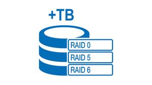 Chức năng chuỗi xích của RocketStor 6314B cho phép người dùng kết nối tới 6 thiết bị RocketStor 6314B độc lập, tổng dung lượng đạt 336TB, bằng cách sử dụng một cổng host Thunderbolt 2 duy nhất.