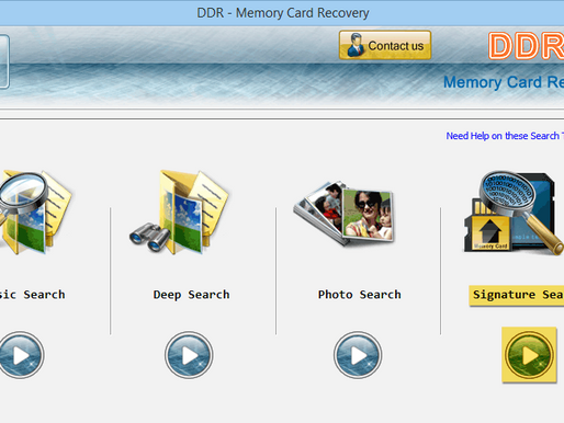 DDR - Memory Card Recovery: Phần mềm cứu dữ liệu thẻ nhớ đòi format