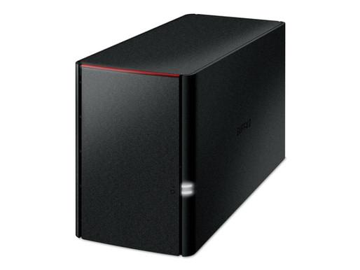 Buffalo LinkStation 220DR: Thiết bị NAS 2-khay tích hợp ổ cứng WD Red
