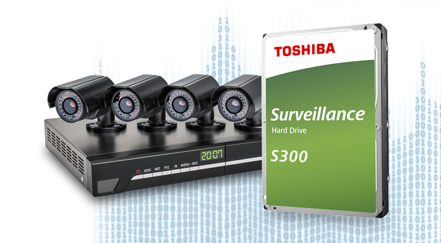 Dòng HDD giám sát S300 hỗ trợ đầu ghi camera IP (NVR), đầu ghi camera analog (DVR), đầu ghi hỗn hợp (HVR), cùng các mảng lưu trữ RAID trong hệ thống.