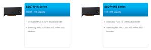 """SSD7101B là ổ đĩa tăng tốc cực nhanh bên cạnh """"người anh em"""" SSD7101A thuộc dòng SSD7100, giải pháp NVMe của HighPoint."""