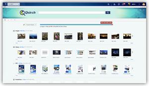 Qsirch cung cấp khả năng tìm kiếm toàn văn để tìm kiếm tập tin một cách nhanh chóng.