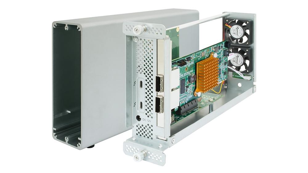 Kiến trúc RAID cứng của HighPoint kết hợp các tài nguyên xử lý và bộ nhớ cache riêng biệt để tối đa hóa hiệu năng của những ứng dụng lưu trữ chuyên nghiệp.
