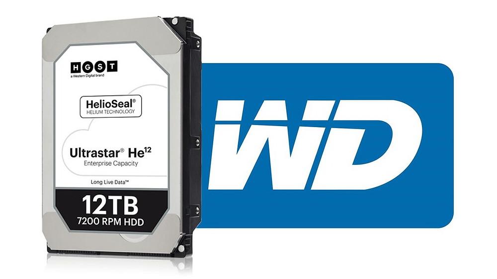 Western Digital công bố ổ cứng 12TB và 14TB sử dụng khí He12.