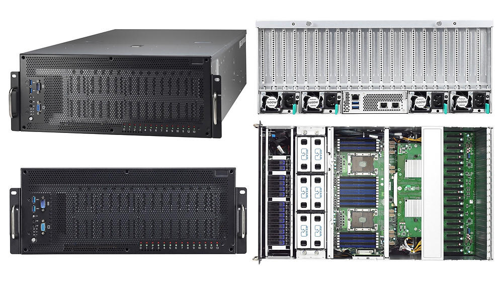 Máy chủ 4U 2-Socket 10-GPU Thunder HX FA77-B7119.