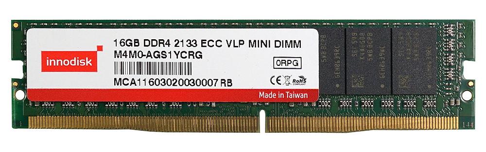 DRAM Mini-DIMM ECC VLP DDR4-2400 16GB của Innodisk.