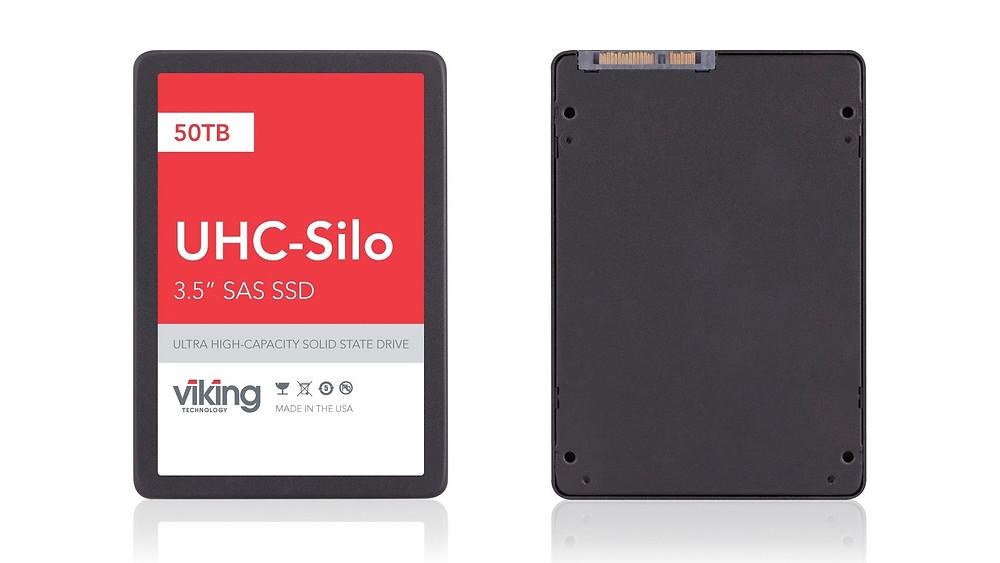 """Viking Technology công bố xuất xưởng SSD 3.5"""" SAS 6Gb 50TB."""