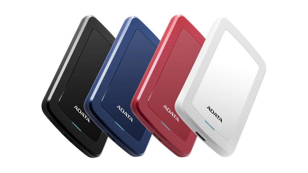 HV300 có 4 màu gồm đen, xanh dương, đỏ và trắng.
