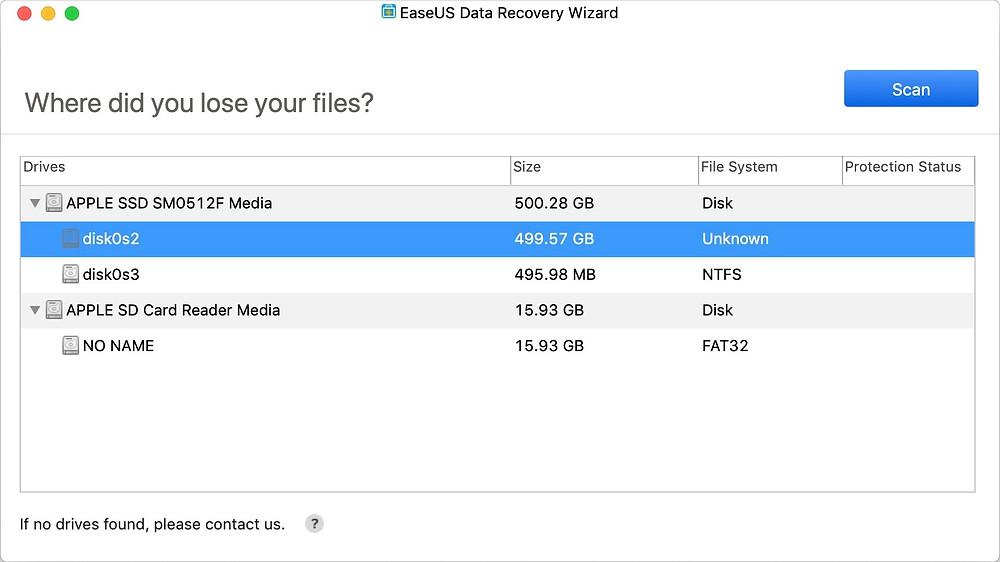 EaseUS Data Recovery Wizard Professional/Technician (Mac) giúp người dùng doanh nghiệp phục hồi dữ liệu đã xóa hoặc mất một cách nhanh chóng trên máy tính iMac, MacBook, HDD, SSD, USB, thẻ nhớ, camera...