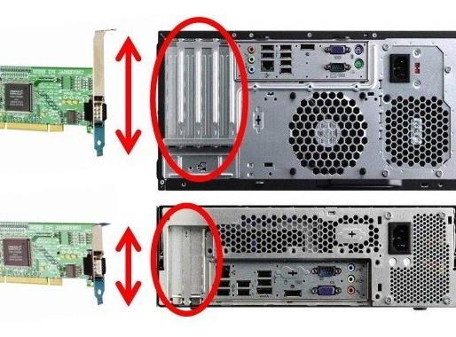 Card PCI full-length, half-length và low-profile khác nhau thế nào?