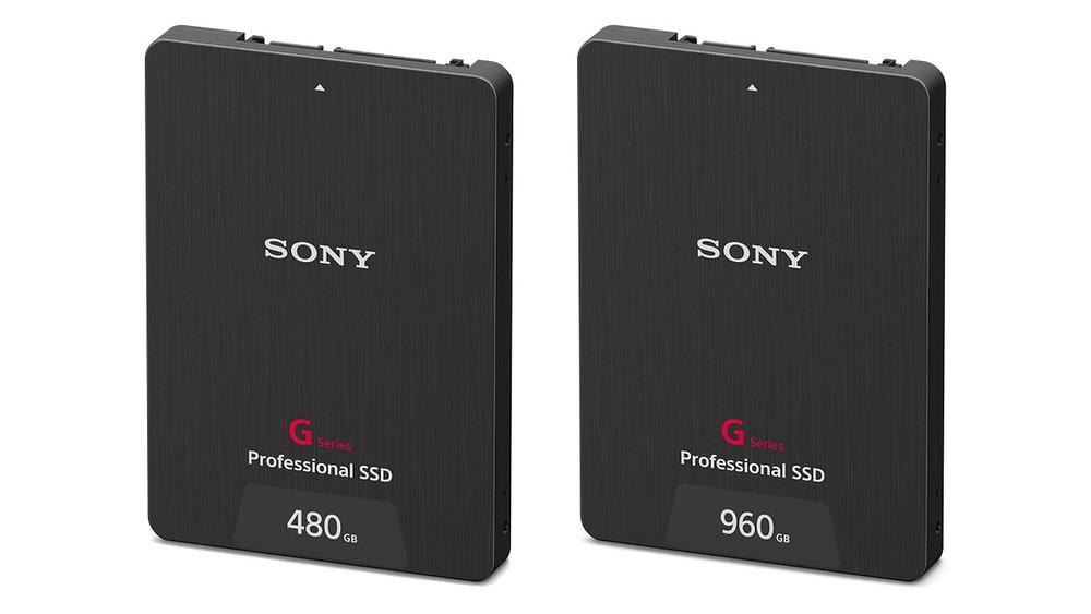 """Sony giới thiệu SSD Professional 2.5"""" dòng G 480GB và 960GB."""