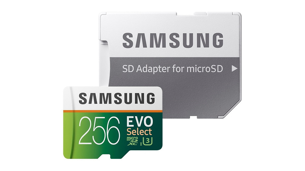 Thẻ nhớ microSDXC Samsung EVO Select 64GB/128GB/256GB giảm giá mạnh.