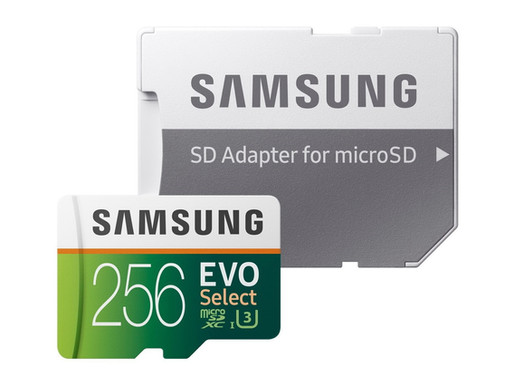 Thẻ nhớ microSDXC Samsung EVO Select 64GB/128GB/256GB giảm giá mạnh