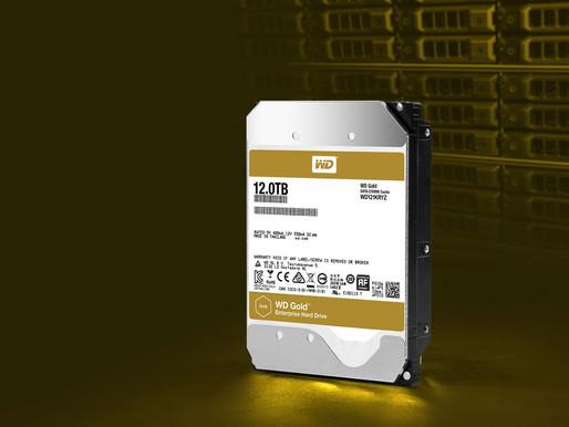"""Western Digital giới thiệu ổ cứng 3.5"""" SATA 6 Gb/s WD Gold 12TB"""