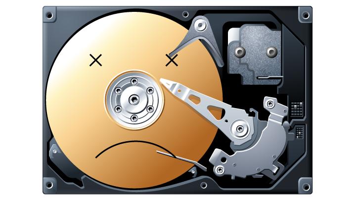 Điều gì xảy ra nếu ổ cứng của tôi bị hỏng?