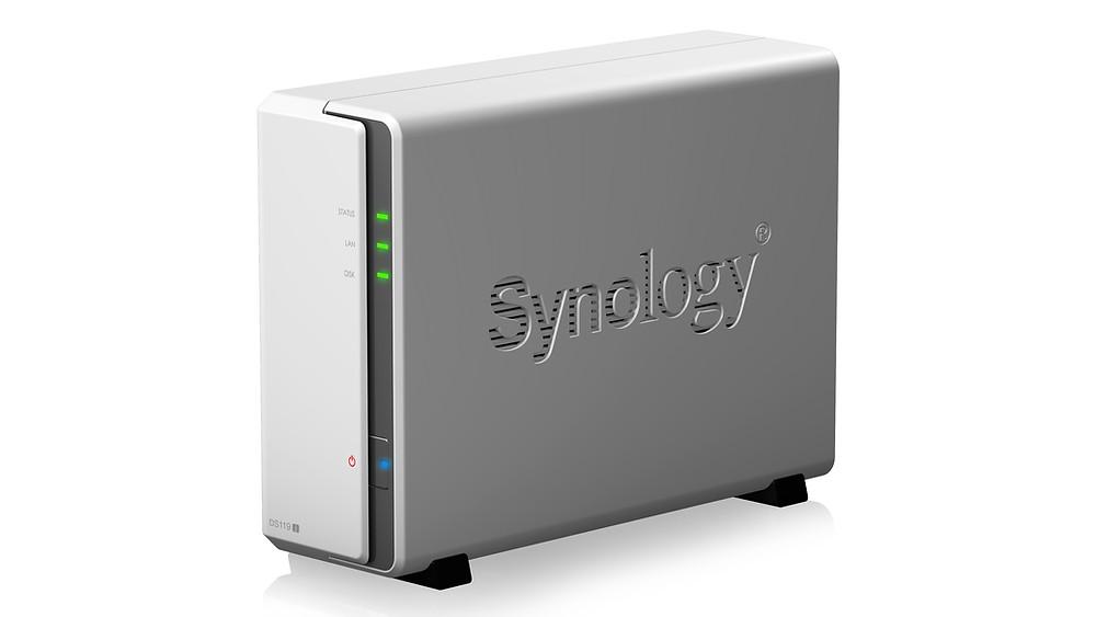 Synology giới thiệu thiết bị NAS dạng tháp 1-khay DiskStation DS119j.
