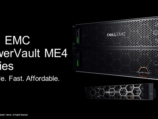 Dell EMC ra mắt dòng máy chủ PowerVault ME4 cho hệ thống SAN/DAS