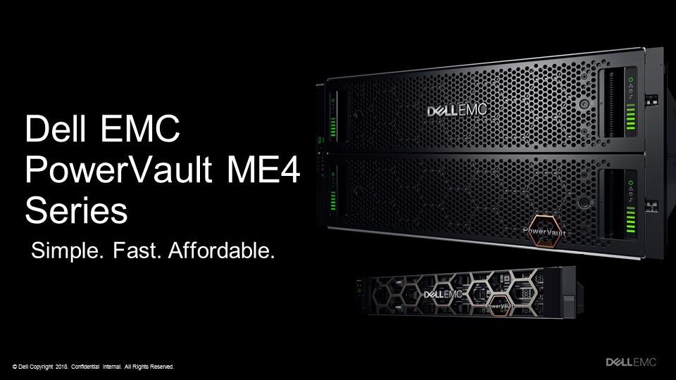 Dell EMC ra mắt dòng máy chủ PowerVault ME4 cho hệ thống SAN/DAS.