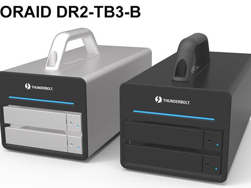 Stardom DR2-TB3: Hệ thống RAID Thunderbolt 3 với 2 khay HDD/SSD