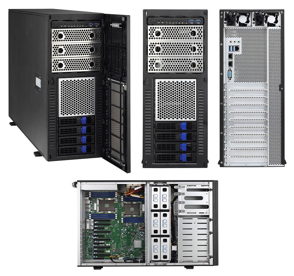 Máy chủ 4U 2-Socket 5-GPU Thunder HX FT48T-B7105.