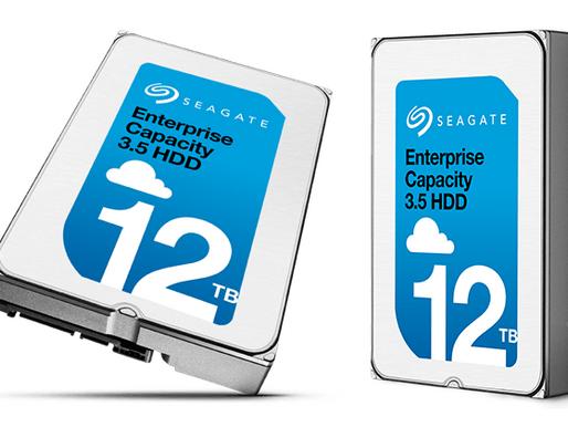 """Seagate công bố ổ cứng Heli 3.5"""" 12TB dành cho doanh nghiệp"""
