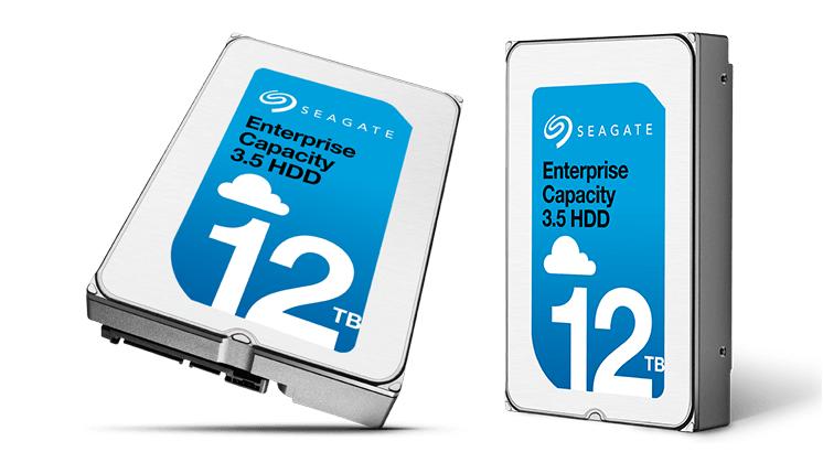 """Seagate công bố ổ cứng Heli 3.5"""" 12TB dành cho doanh nghiệp."""
