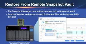 Dòng TVS-x72XT cung cấp chức năng bảo vệ snapshot theo khối nhằm giúp người dùng hạn chế tác động của mã độc tống tiền (ransomware) một cách hiệu quả.