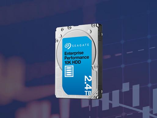"Seagate trình làng ổ cứng 2.5"" SAS 10K 2.4TB Enterprise Performance"