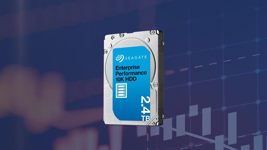 "Seagate trình làng ổ cứng 2.5"" SAS 10K 2.4TB Enterprise Performance."