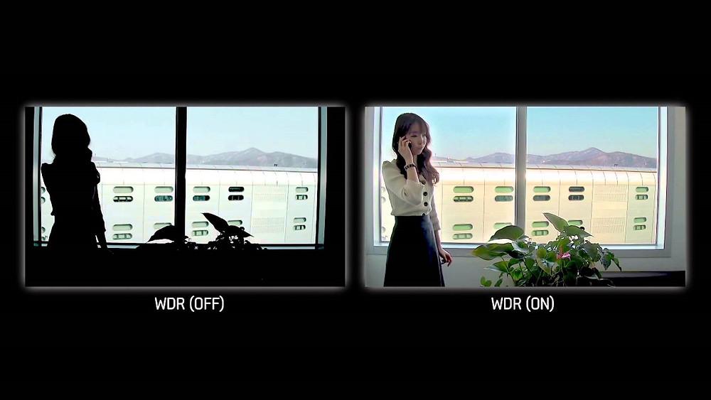 Tìm hiểu về chức năng WDR trên camera an ninh / giám sát của Panasonic.