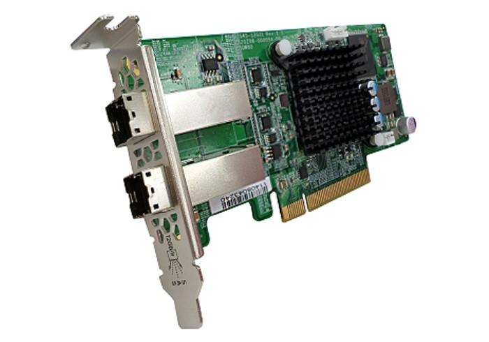 Với ba khe cắm PCIe thế hệ thứ 3, TVS-882BR cho phép gắn thêm card mở rộng lưu trữ SAS 12 Gb/s.