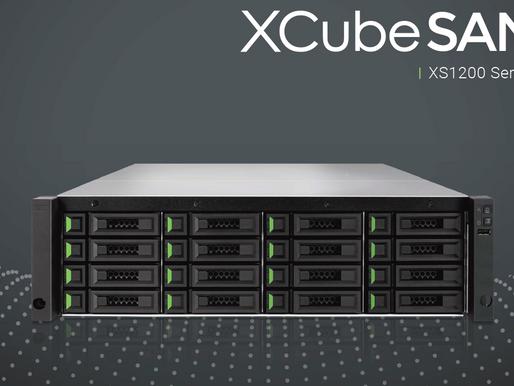 QSAN XCubeSAN XS1200: Hệ thống máy chủ SAN cho doanh nghiệp vừa và nhỏ