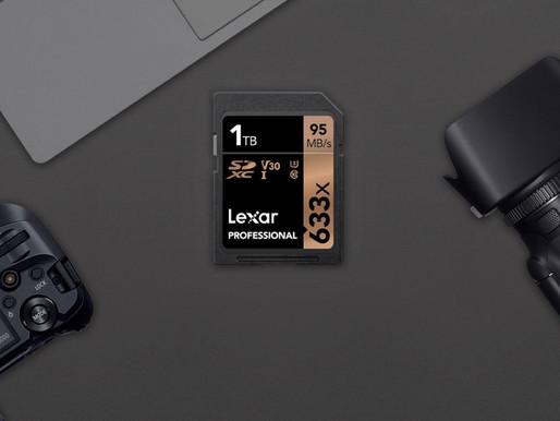 Lexar Professional 633x: Thẻ nhớ SDXC UHS-I dung lượng khủng 1TB