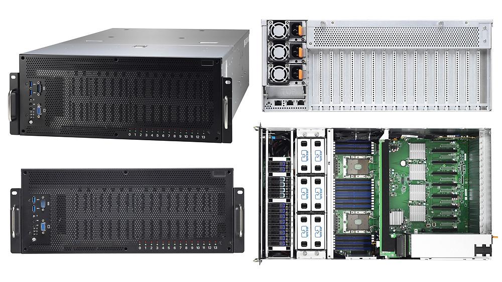 Máy chủ 4U 2-Socket 8-GPU Thunder HX FT77D-B7109.