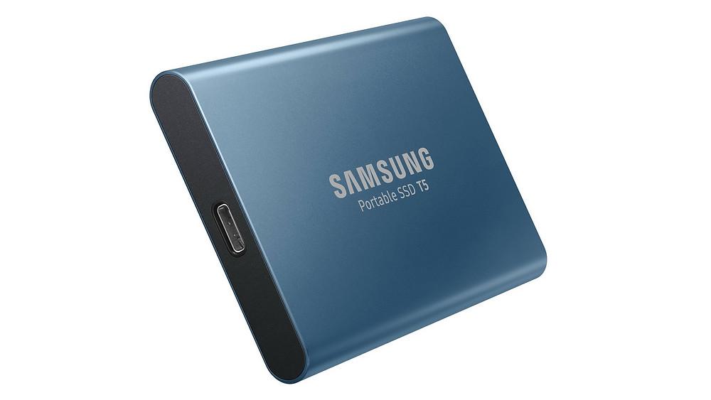 SSD gắn ngoài Samsung Portable SSD T5.