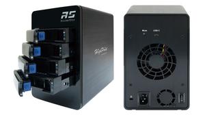 HighPoint RocketStor 6114V: Thiết bị lưu trữ 4 khay đĩa RAID 5 USB 3.1