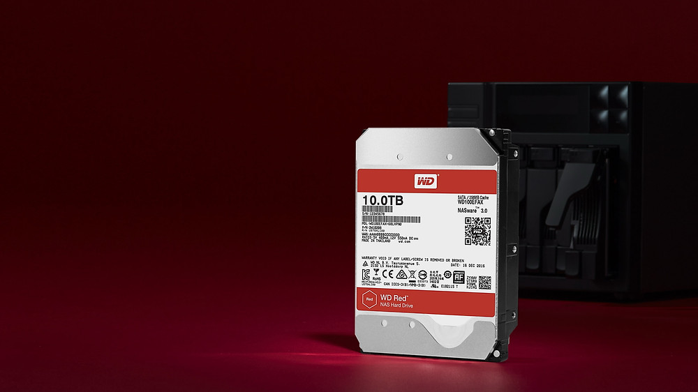 Ổ cứng NAS WD Red 10TB.