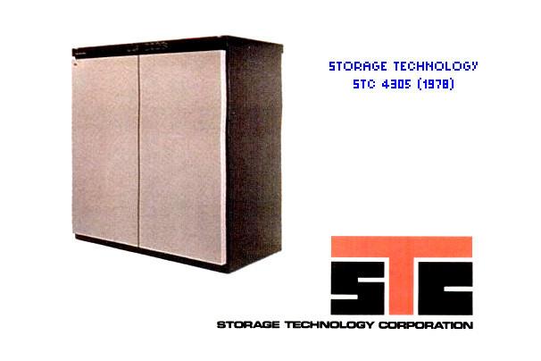 SSD đầu tiên trên thế giới - STC 4305 - dung lượng 45MB thời điểm 1978.
