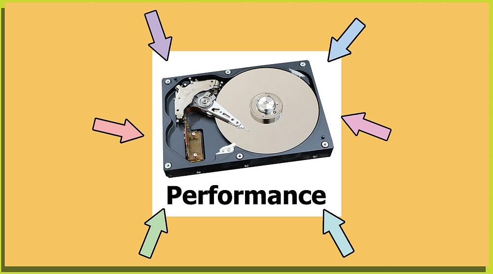 Số lượng đĩa từ, tốc độ quay và dung lượng bộ nhớ cache có quan trọng không?