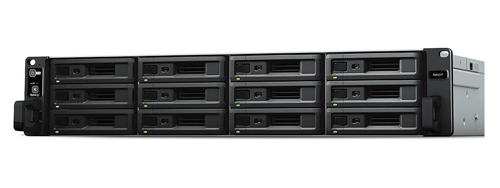 Dung lượng lưu trữ RS2418+/RS2418RP+ còn có thể được nâng cấp tới 288TB khi kết nối với hệ thống mở rộng RX1217/RX1217RP.