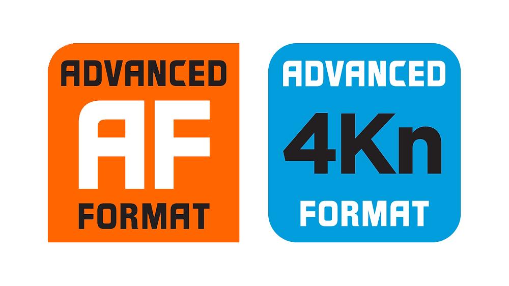 Công nghệ Advanced Format (AF - Định dạng Nâng cao) trên ổ cứng.