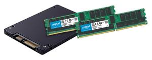 Bộ nhớ máy chủ của Crucial và ổ đĩa SSD loại dành cho doanh nghiệp của Micron.