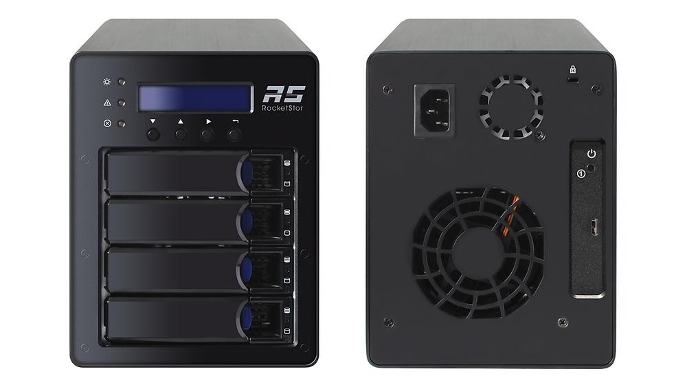 HighPoint RocketStor 6124V: Hệ thống RAID USB 3.1 tốc độ 10 Gb/s.